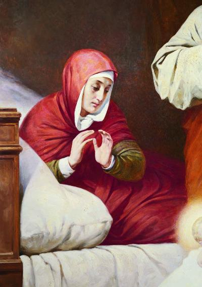 The Nativity of the Blessed Virgin Mary - fragment