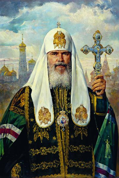 Alexis II, the Patriarch of  Moscow and All of  Russia