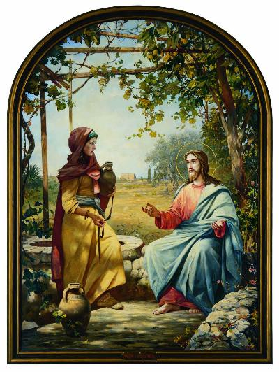 Christ and the Samarian Woman